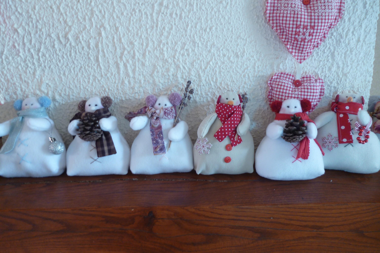 Bonhomme de neige pausecouture - Bonhomme de neige en polystyrene ...