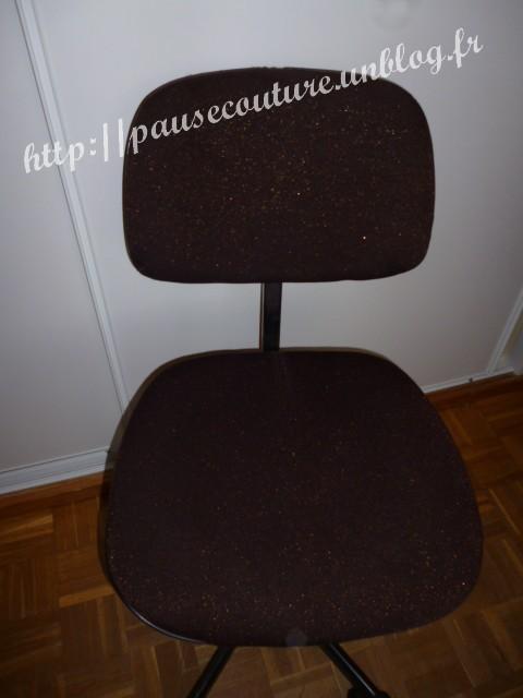 Restaurer une chaise de bureau pausecouture - Restaurer une chaise cannee ...